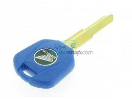 Honda Motorbike Key - Blue - Key blade HON31 (Groove left) - after market product